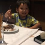 Nathan at Soojin Park's Farewell Dinner